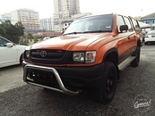 2003 TOYOTA HILUX 2.8cc Diesel Canoby king ubar Double Cab low miles