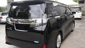2015 TOYOTA VELLFIRE 2.5 new car japan sunroof included GST