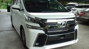 2015 TOYOTA VELLFIRE 2.5 ZG all new car included GST