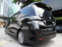 2012 TOYOTA VELLFIRE 2.4  GOLDEN EYES MEGA SPEC