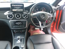 2014 MERCEDES-BENZ CLA CLA45 AMG Sport 4MATIC 2.0 Fully Handcraft by MercedesAMG Twin Scroll Turbocharged 360hp SpeedShift 7GDCT 2 Memory Seat Media Command Interface Bi Xenon LED BSI ESP Paddle Shift Bluetooth Connectivity Unreg