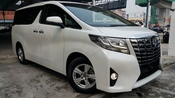 2015 TOYOTA ALPHARD 2.5 AUTO NEW MODEL UNREG