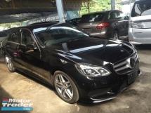 2014 MERCEDES-BENZ E-CLASS Mercedes Benz E250 2.0 AMG Turbo Camera Keyless Push Start 7G