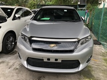 2015 TOYOTA HARRIER 2.0 Valvematic 7SCVT 4 Surround Camera Automatic Power Boot Power Half Leather Seat Unreg
