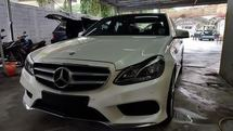 2014 MERCEDES-BENZ E-CLASS MERCEDES-BENZ E250 AMG HIGH SPEC UK PREMIUM CAR