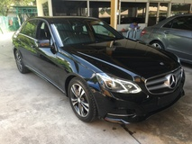 2014 MERCEDES-BENZ E-CLASS 2.0 CGi Avantgarde 7GTronic BlueEfficiency 211hp New Facelift Adaptive Intelligent LED System Automatic Power Boot 2 Memory Power Seats Auto Telescopic Multi Function Paddle Shift Steering Keyless Go Entry Bluetooth Connectivity 1 Year Warranty Unreg