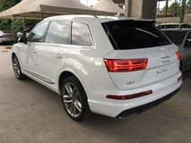 2015 AUDI Q7 3.0 SLine Quattro 12.3 Inch Audi Virtual Cockpit   8.3 Inch MMi Touch Plus Matrix Multi LED Headlights Panoramic Roof Dynamic Drive 3D BOSE Memory Seat Power Boot 7 Seat Paddle Shift Steering 4 Zone Climate Hold Reverse Camera Bluetooth Connectivity