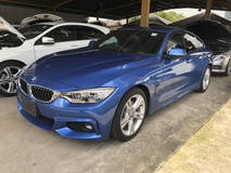2014 BMW 4 SERIES 420i M Sport Gran Coupe 2.0 Twin Power Turbo SportEco Pro Mode Selection Dynamic Intelligent LED