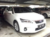 2012 LEXUS CT200H HYBRID LUXURY