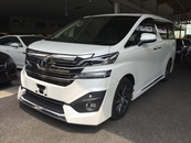 2015 TOYOTA VELLFIRE 3.5 (A) EXECUTIVE LOUNGE