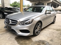 2014 MERCEDES-BENZ E-CLASS E250 2.0 AMG Sport 4 Surround Camera Distronic Push Start Button Memory Seat Intelligent LED Light