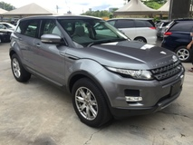 2013 LAND ROVER EVOQUE Range Rover Evoque 2.0 Si4 Turbocharged Panoramic Roof Memory Bucket Seat 5 Surround Camera Park Assist Automatic Power Boot Active Terrain Response Meridian Sound Smart Entry Xenon Dual Zone Climate Control Auto Cruise Control Bluetooth Connectivity