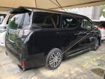2015 TOYOTA VELLFIRE 2.5 ZG Edition Fully Loaded JBL Theater 4 Surround Camera Pilot Leather Seat Sun Roof Power Boot