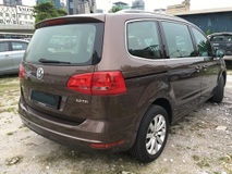 2012 VOLKSWAGEN SHARAN 2.0 tech spec