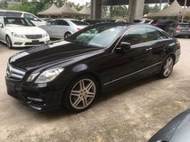2012 MERCEDES-BENZ E-CLASS E200 CGi AMG Sport Coupe 7GTronic Bucket Sport Seat Multi Function Paddle Shift Steering Dual Zone Climate Control Auto Cruise Parktonic Assist Daytime LED Bi Xenon Light Bluetooth Connectivity 1 Year Warranty Unregistered