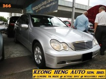 2005 MERCEDES-BENZ C-CLASS C180K (ACTUAL YR MADE 2005) (JAPAN SPEC)