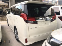 2015 TOYOTA ALPHARD 2.5 S Sport Edition 7 Seat 2 Power Door Unreg