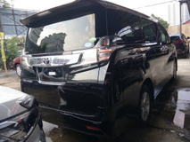 2016 TOYOTA VELLFIRE 2.5 Model X 8 Seater Unreg