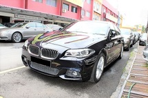2015 BMW 5 SERIES 528i M Sport 2.0 Twin Turbo Under Warranty by BMW Malaysia until April 2020 Genuine 42K KM