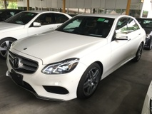 2013 MERCEDES-BENZ E-CLASS E250 2.0 CGi AMG Sport 7GTronic New Facelift Keyless Smart Entry Push Start Button Memory Seats Auto Telescopic Multi Function Paddle Shift Steering Adaptive Intelligent LED Reverse Camera with Parktronic Assist Bluetooth Connectivity 1 Year Warranty