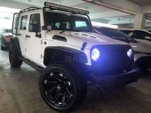 2013 JEEP WRANGLER 3.6 SAHARA Petrol 4 Door Unreg