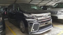 2015 TOYOTA VELLFIRE 2.5 ZG Full Leather and Full Spec