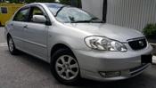 2002 TOYOTA ALTIS 1.6 Auto VVTI
