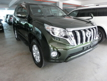 2015 TOYOTA LAND CRUISER 2.8 TX Diesel Turbo Unreg INC GST