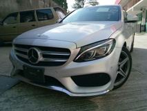 2015 MERCEDES-BENZ C-CLASS C180 1.6t AMG Japan  (NO SST)