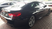2014 BMW 6 SERIES 3.0 TWIN TURBO GRAN COUPE UNREG