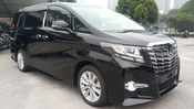 2015 TOYOTA ALPHARD 2.5 SA 3 YEARS WARRANTY UNREG