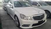 2013 MERCEDES-BENZ E-CLASS E250 AMG  BLUE EFF 7G 1.8L OFL WITH FREE PRRMIUM WRTY GST UNREGISTERED