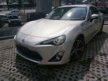 2013 TOYOTA 86 2.0 FT GT86 TEIN GREDDY (NO SST)