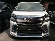 2016 TOYOTA VELLFIRE 3.5 V6 ZG Full Spec DEMO (NO SST)