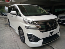 2015 TOYOTA VELLFIRE 3.5 V6 Executive Lounge (NO SST CHARGE)