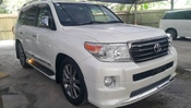 2013 TOYOTA LAND CRUISER LANDCRUISER ZX PRE-CRASH SROOF COOLBOX AIRMATIC MODELISTA SIDE STEP ROOF RAIL HOMETHEATRE M/E/L/S MEGASPEC WT FREE WRTY GST UNREG ***YEAR-WNS CLEARANCE ***