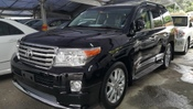 2015 TOYOTA LAND CRUISER LANDCRUISER ZX SROOF AIRMATIC 4CAM MODELISTA SIDE-STEP ROOF RAIL H/THEATRE COOLBOX M/E/BLACK L-SEAT PRE-CRASH MEGASPEC WT FREE WRTY GST UNREG *** YEAR-END CLEARANCE ***