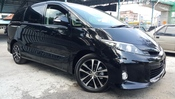 2012 TOYOTA ESTIMA 2.4 AERAS FACELIFT UNREG 3 YEAR WARRANTY