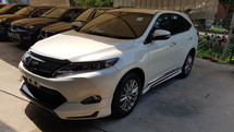 2015 TOYOTA HARRIER Panaromic Roof Unreg Local  PRICE INCLUSIVE GST