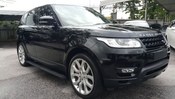 2014 LAND ROVER RANGE ROVER SPORT 5.0 AUTOBIOGRAPHY RED SEAT UNREG