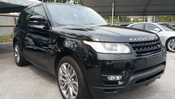 2015 LAND ROVER RANGE ROVER SPORT 3.0 HSE RED SEAT 7 SEATER UNREG