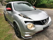2013 NISSAN JUKE NISMO RS 1.6 4WD (A) UNREGISTERED