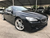2014 BMW 6 SERIES 640i Gran Coupe 3.0 TWIN TURBO M-SPORT NEW FACELIFT  UNREG #INCLUDED GST