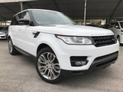 2015 LAND ROVER RANGE ROVER SPORT 3.0 SUPERCHARGE HSE DYNAMIC HIGH SPEC UNREG #INCLUDED GST