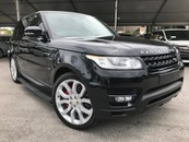 2014 LAND ROVER RANGE ROVER SPORT 5.0 AUTOBIOGRAPHY HSE DYNAMIC RED SEAT UNREG
