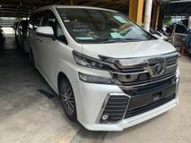 2015 TOYOTA VELLFIRE 2.5 ZG Sunroof PreCrash Unreg