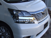 VELLFIRE CHROME ACCESSORIES Exterior & Body Parts > Body parts