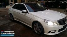2011 MERCEDES-BENZ E-CLASS E250 1.8cc AMG UNREG