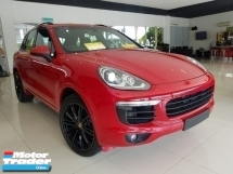 2015 PORSCHE CAYENNE 3.0 V6 DIESEL TURBO NEW FACELIFT  UNREGISTER