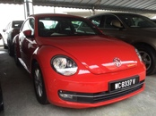 2013 VOLKSWAGEN BEETLE 1.2 TSI Facelift Under Warranty Until 2018